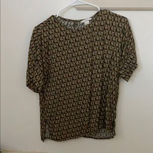 Vintage style top from H and M